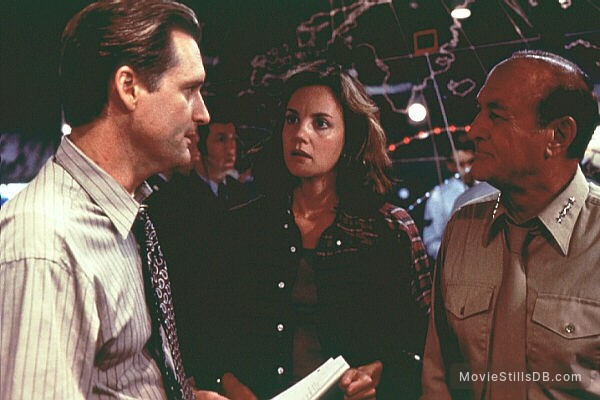 Independence Day - Publicity still of Bill Pullman & Margaret Colin