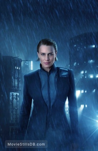 Blade Runner 2049 - Promotional art with Robin Wright