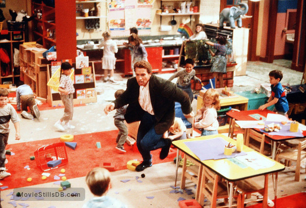 Kindergarten Cop - Publicity still of Arnold Schwarzenegger