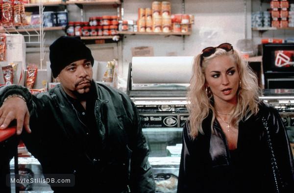 'R Xmas - Publicity still of Drea de Matteo & Ice-T