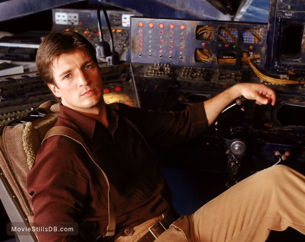 Serenity - Publicity still of Nathan Fillion