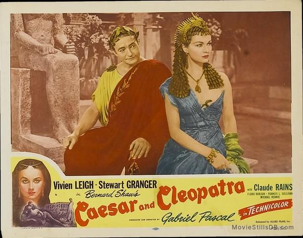 Caesar and Cleopatra - Lobby card