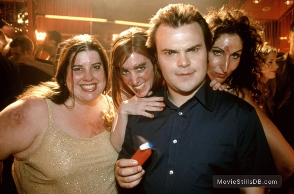 Shallow Hal Behind The Scenes Photo Of Jack Black
