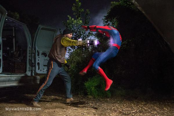 Spider-Man: Homecoming - Publicity still of Logan Marshall-Green