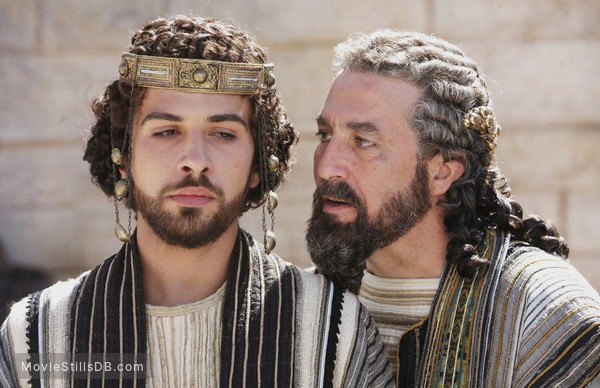 The Nativity Story - Publicity still of Ciarán Hinds & Alessandro Giuggioli