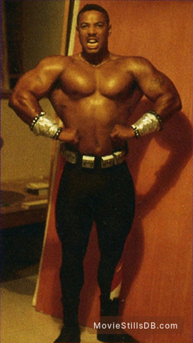 Mortal Kombat II - Behind the scenes photo of John Parrish