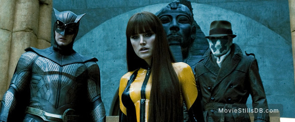 Watchmen -  Malin Åkerman, Patrick Wilson & Jackie Earle Haley