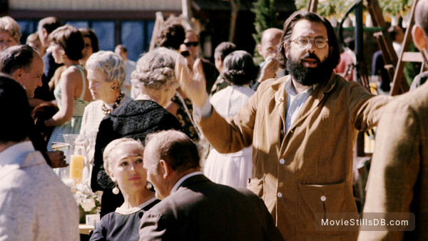 The Godfather - Behind the scenes photo of Francis Ford Coppola