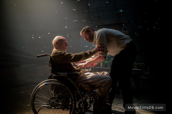 Logan - Publicity still of Hugh Jackman & Patrick Stewart