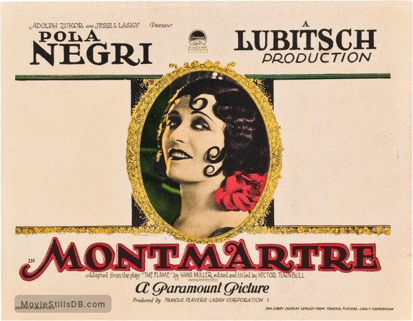 Faubourg Montmartre - Lobby card