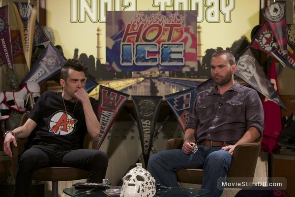 Goon - Publicity still of Jay Baruchel & Seann William Scott