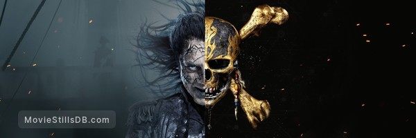 Pirates of the Caribbean: Dead Men Tell No Tales - Promotional art with Javier Bardem