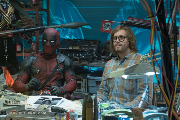 Deadpool 2 - Publicity still of Ryan Reynolds & T.J. Miller