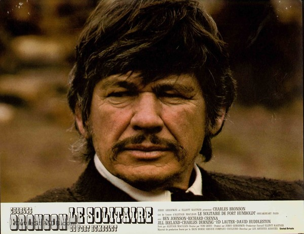 Breakheart Pass - Lobby card with Charles Bronson