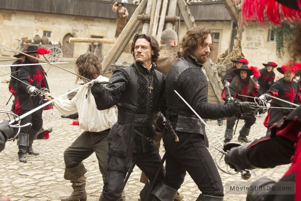The Three Musketeers - Publicity still of Matthew Macfadyen & Luke Evans
