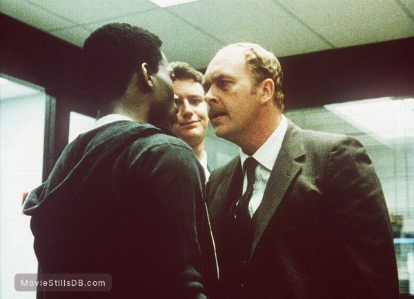 Beverly Hills Cop - Publicity still of Judge Reinhold, John Ashton & Eddie Murphy
