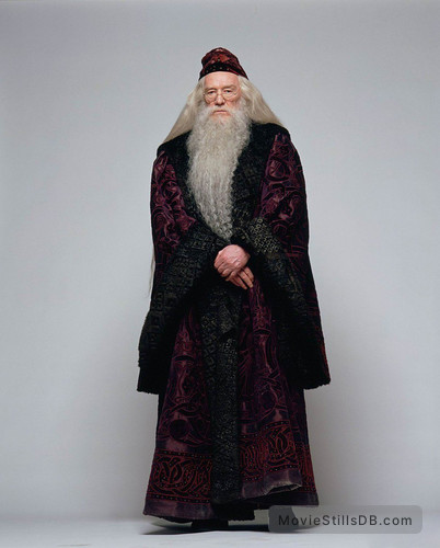 Harry Potter and the Sorcerer's Stone - Promo shot of Richard Harris