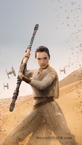 Star Wars: The Force Awakens - Promotional art with Daisy Ridley