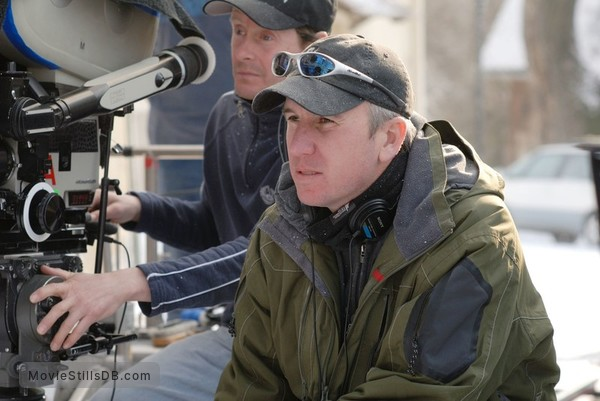 The Seeker: The Dark Is Rising - Behind the scenes photo of David L. Cunningham