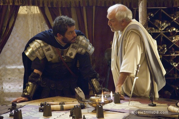 Centurion - Publicity still of Dominic West & Paul Freeman