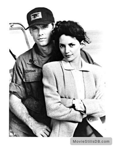 Navy Seals - Promo shot of Michael Biehn & Joanne Whalley