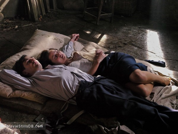 Room at the Top - Publicity still of Jenna Coleman & Matthew Mcnulty