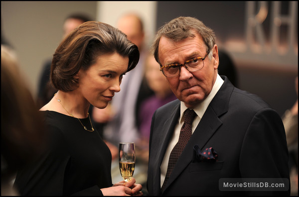 The Ghost Writer - Publicity still of Tom Wilkinson & Olivia Williams