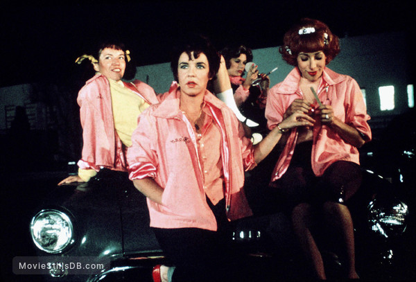 Grease - Publicity still of Stockard Channing, Didi Conn & Jamie Donnelly