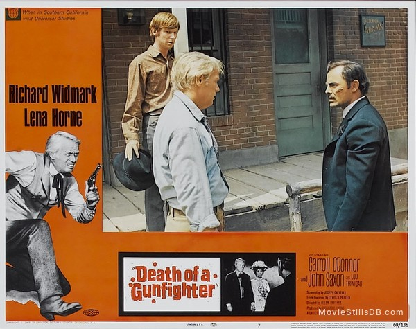 Death of a Gunfighter - Lobby card