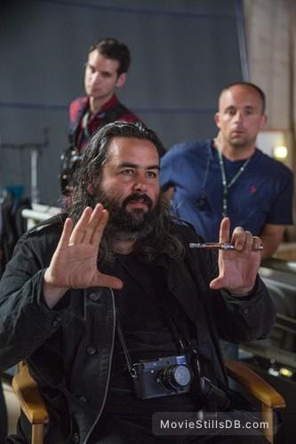 Spectre - Behind the scenes photo of Hoyte van Hoytema