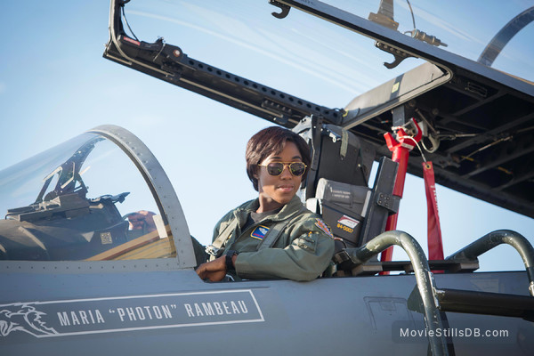 Captain Marvel - Publicity still of Lashana Lynch