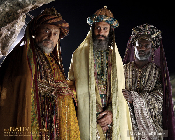 The Nativity Story - Wallpaper with Nadim Sawalha, Stefan Kalipha & Eriq Ebouaney