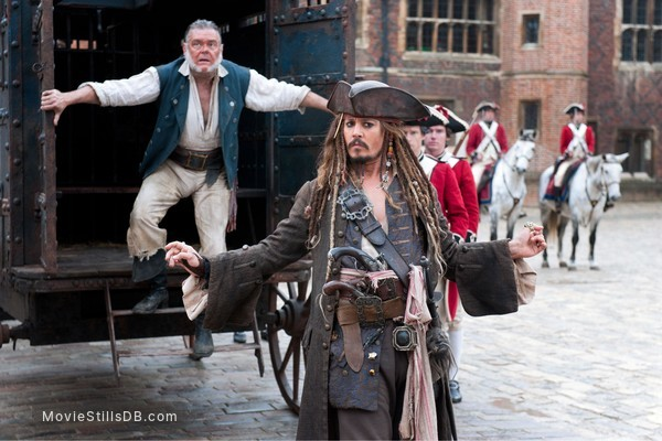 Pirates of the Caribbean: On Stranger Tides - Publicity still of Johnny Depp & Kevin McNally