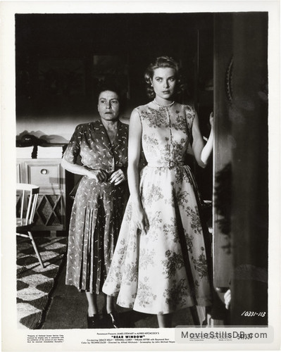 Rear Window - Publicity still of Thelma Ritter & Grace Kelly