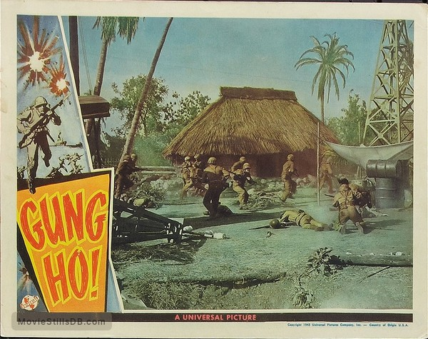 'Gung Ho!': The Story of Carlson's Makin Island Raiders - Lobby card