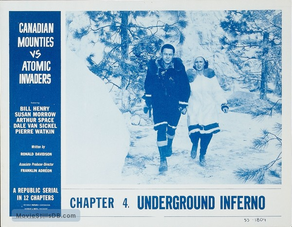 Image result for canadian mounties vs atomic invaders