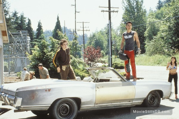 Highway - Publicity still of Jared Leto, Jake Gyllenhaal & Selma Blair