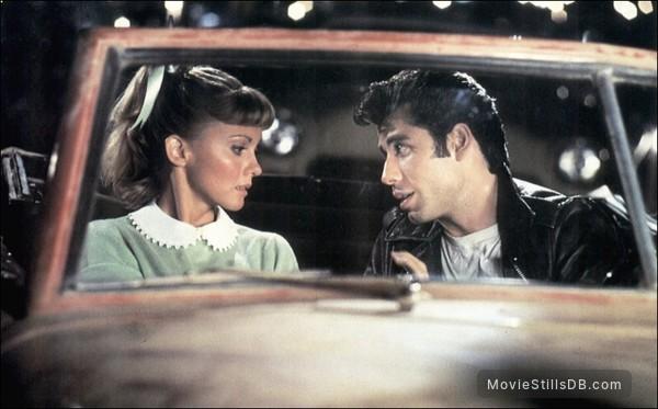 Grease - Publicity still of Olivia Newton-John & John Travolta