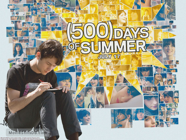 (500) Days of Summer - Wallpaper with Joseph Gordon-Levitt & Zooey Deschanel