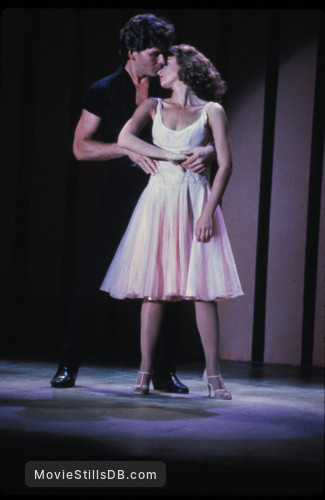 Dirty Dancing - Publicity still of Jennifer Grey & Patrick Swayze