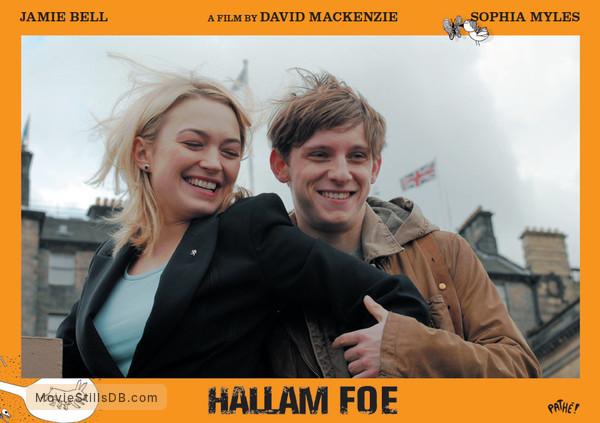 Hallam Foe - Lobby card with Jamie Bell & Sophia Myles