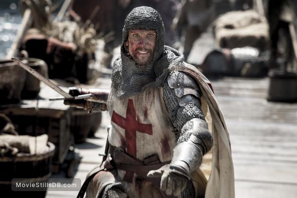 Knightfall - Publicity still of Simon Merrells