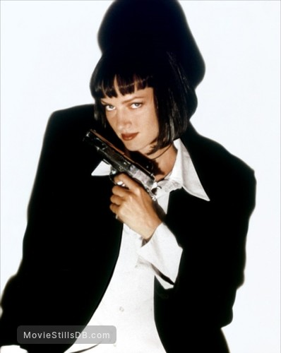 Pulp Fiction - Promo shot of Uma Thurman