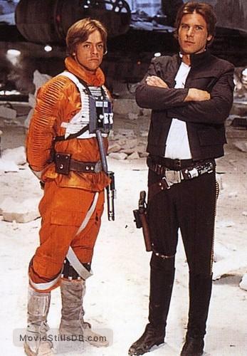 Star Wars: Episode V - The Empire Strikes Back - Promo shot of Mark Hamill & Harrison Ford