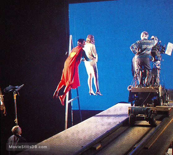 Superman IV: The Quest for Peace - Behind the scenes photo ...