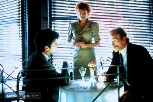 Stormy Monday - Publicity still of Mark Long, Melanie Griffith & James Cosmo