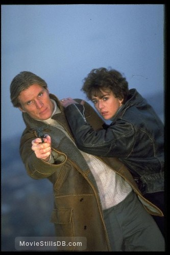 The Shooter - Promo shot of Dolph Lundgren & Maruschka Detmers