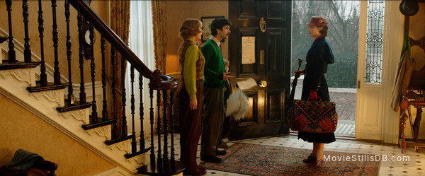 Mary Poppins Returns -  Emily Mortimer, Ben Whishaw, Emily Blunt & Joel Dawson