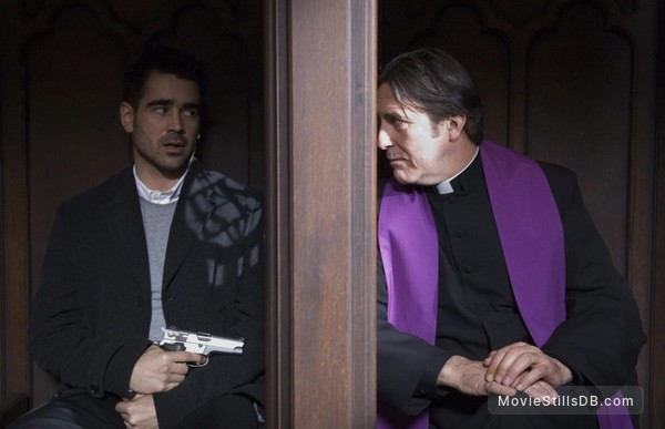 In Bruges - Publicity still of Colin Farrell & Ciarán Hinds