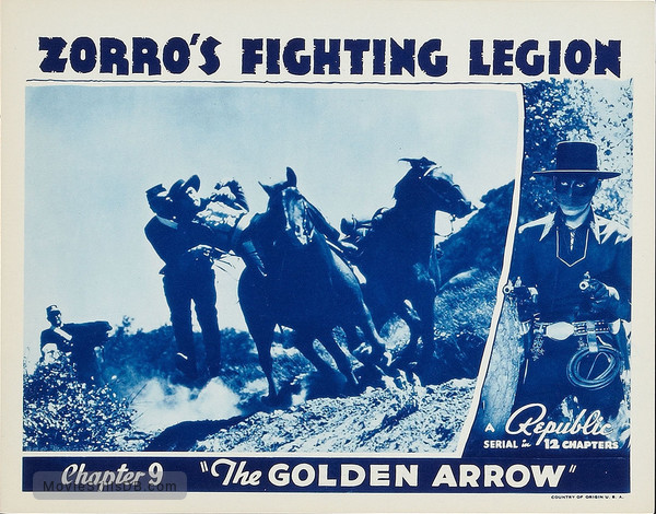 Zorro's Fighting Legion - Lobby card